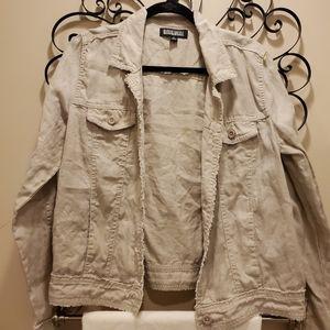 Nicole miller linen jacket